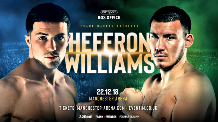 - Latest Liam Williams Mark Heffron Williams vs. Heffron