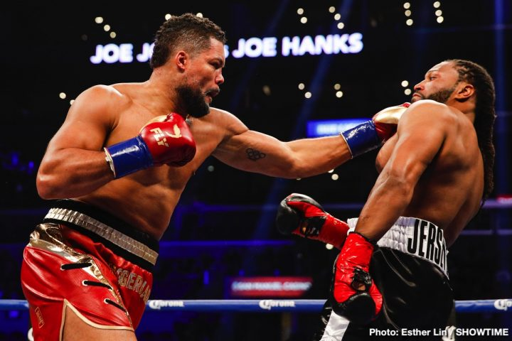 Latest Bermane Stiverne Joe Joyce Joyce vs. Stiverne