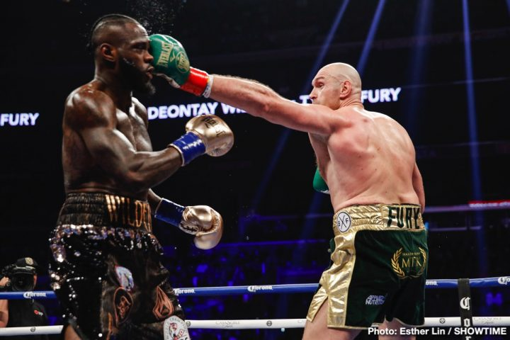 Deontay Wilder Tyson Fury Deontay Wilder Fury vs. Wilder Tyson Fury
