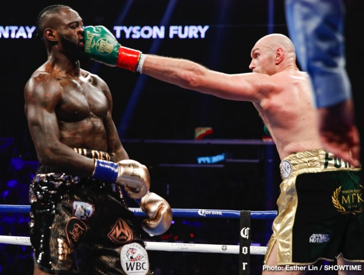 Deontay Wilder Tyson Fury Frank Warren Wilder vs. Fury II