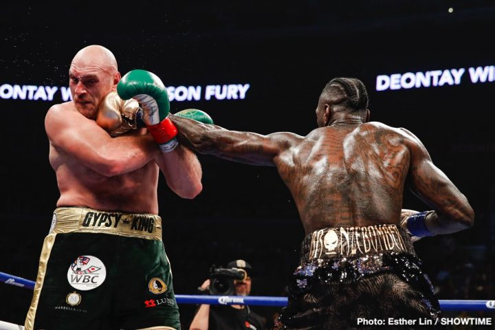 Deontay Wilder Tyson Fury Eddie Hearn Wilder vs. Fury II