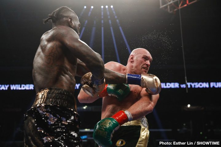 Deontay Wilder Tyson Fury Wilder vs. Fury II