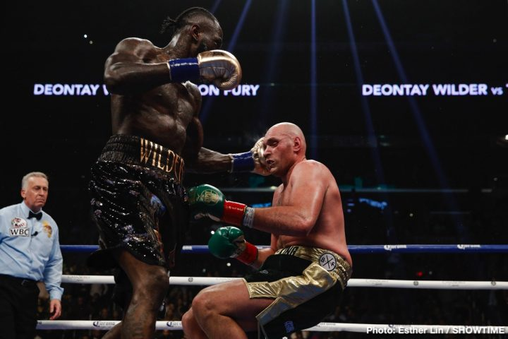 Anthony Joshua Deontay Wilder Tyson Fury ESPN Top Rank Boxing Wilder vs. Fury II