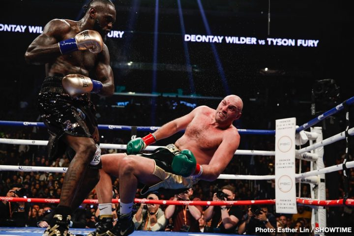 Anthony Joshua Deontay Wilder Tyson Fury Wilder vs. Fury 2