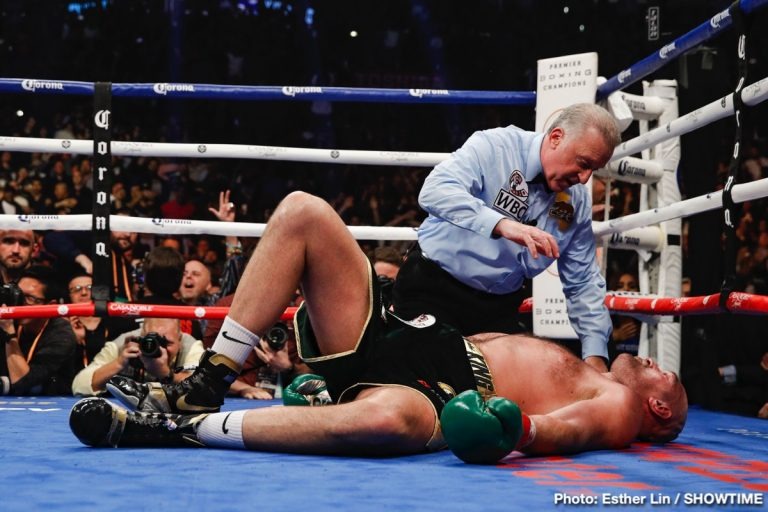 Wilder-Fury: Referee Jack Reiss explains why he didnt