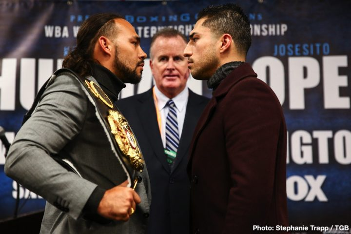 Josesito Lopez Adam Kownacki Gerald Washington Kownacki vs. Washington Thurman vs. Lopez
