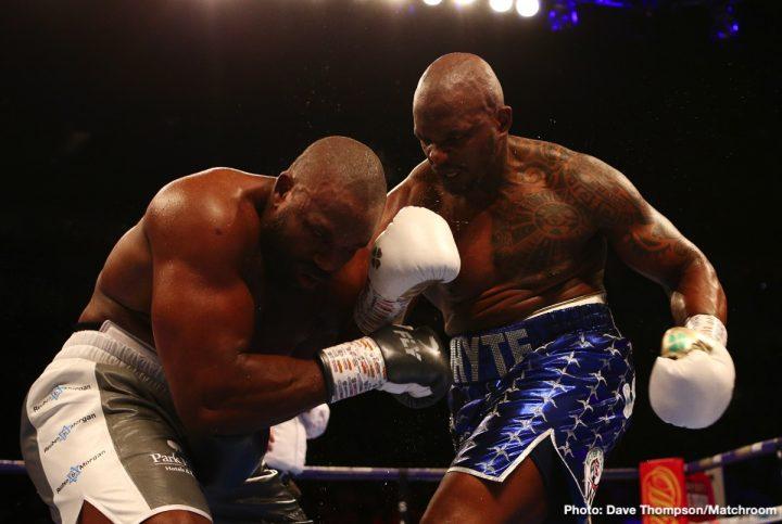 Anthony Joshua Derek Chisora Dillian Whyte Whyte vs. Chisora 2