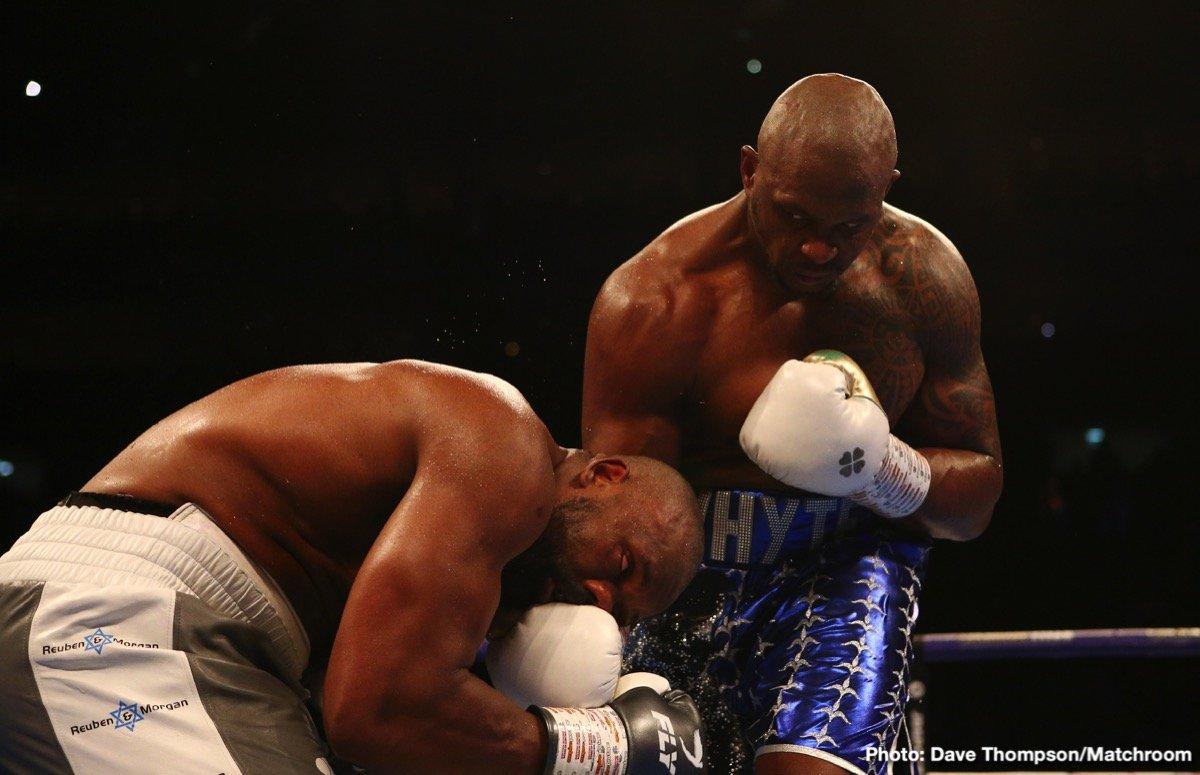 Dillian Whyte Tyson Fury