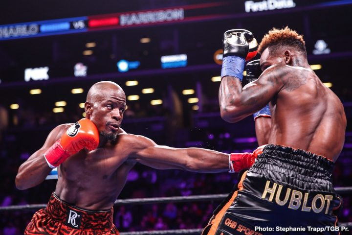 Tony Harrison Defeats Jermell Charlo