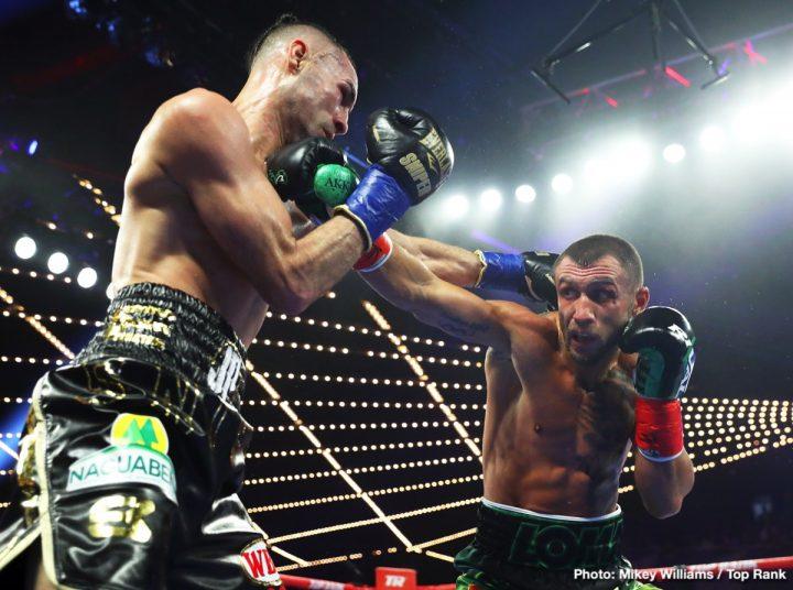 Vasyl Lomachenko Jose Pedraza Lomachenko vs. Pedraza