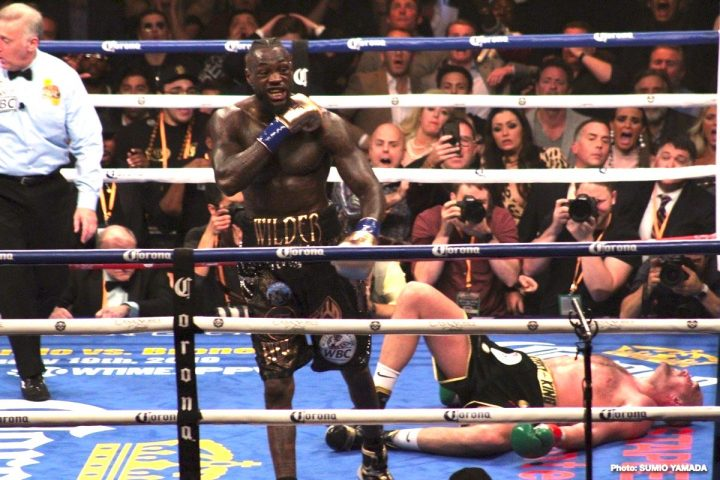Deontay Wilder Tyson Fury ESPN Shelly Finkel Top Rank Boxing Wilder vs. Fury II