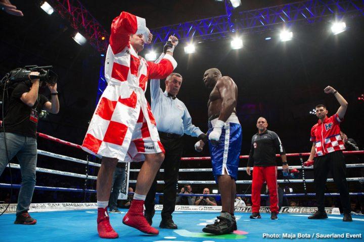 - Latest Kevin Johnson Filip Hrgovic Hrgović vs. Johnson