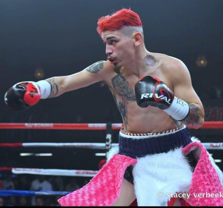 Roy Jones Jr. Boxing Inks 18-1 Featherweight Prospect Ray