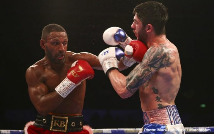 Hearn wants Kell Brook to face Crawford after Khan