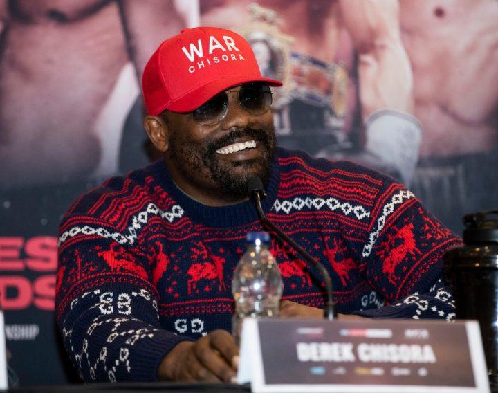 Derek Chisora Browne vs. Allen David Allen Eddie Hearn Lucas 'Daddy' Browne