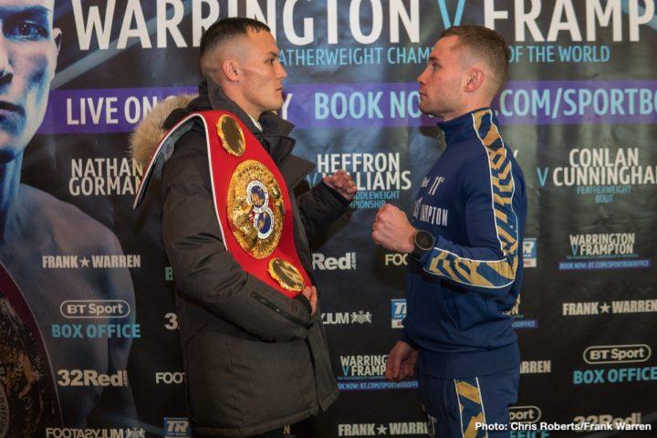 Warrington vs Frampton - December 22 - Manchester
