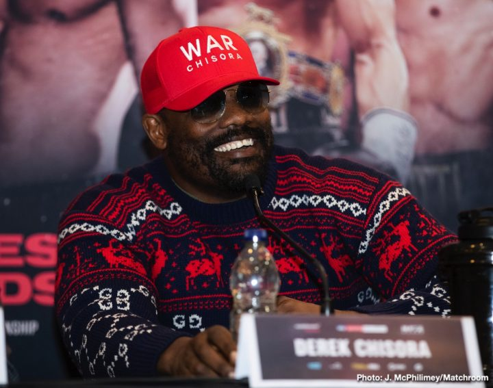 - Latest Derek Chisora Chisora vs. Gashi