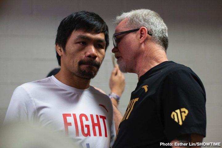 Errol Spence Jr Floyd Mayweather Jr Mikey Garcia FOX Sports PPV Mayweather vs. Pacquiao II Spence vs. Garcia