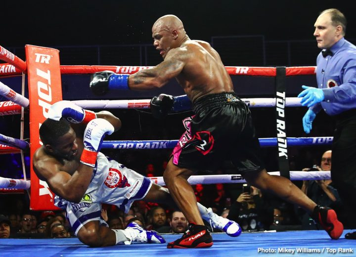 Latest Bryant Jennings Oscar Rivas Rivas vs. Jennings
