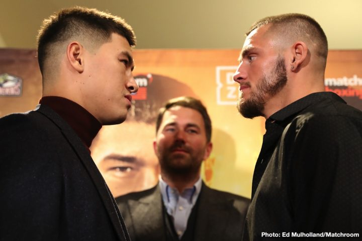 Latest Bivol vs. Smith Dmitry Bivol Joe Smith Jr
