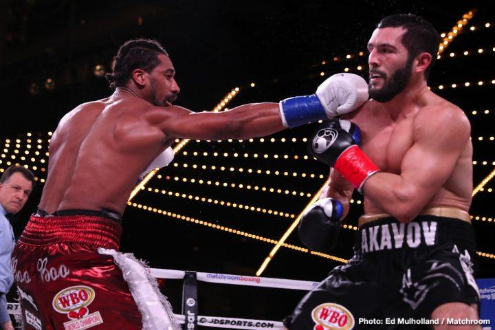 Demetrius Andrade DAZN Matchroom Boxing