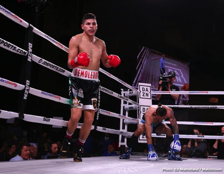 Jorge Linares Linares vs. Cano Pablo Cesar Cano TJ Doheny