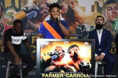 - Latest Farmer vs. Carroll Jono Carroll Tevin Farmer