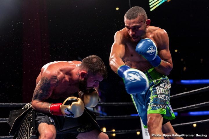 Latest Caleb Plant Jose Uzcategui