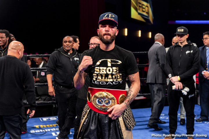 Latest Caleb Plant David Benavidez Jose Uzcategui