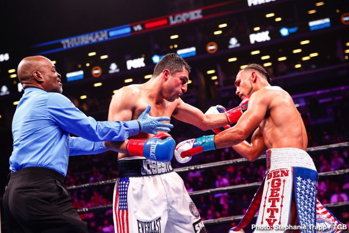 Josesito Lopez Keith Thurman Manny Pacquiao Bob Arum Thurman vs. Lopez top rank