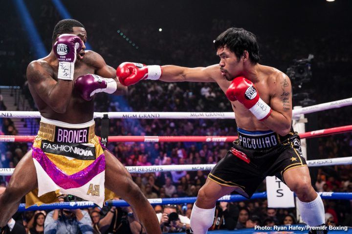 Adrien Broner Floyd Mayweather Jr Manny Pacquiao Pacquiao vs. Broner