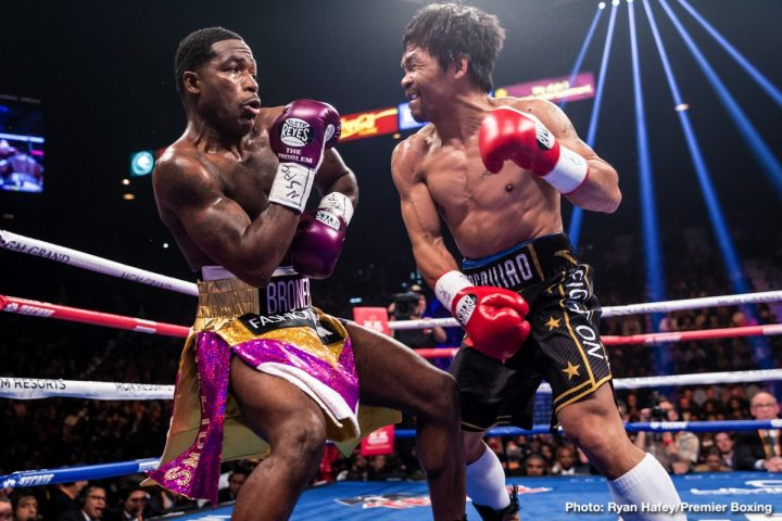 Adrien Broner Keith Thurman Manny Pacquiao Pacquiao vs. Broner Pacquiao vs. Thurman