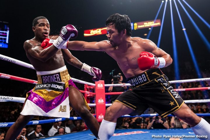Adrien Broner Manny Pacquiao Jeff Mayweather Pacquiao vs. Broner