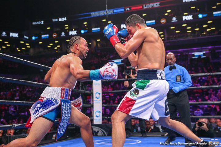 Josesito Lopez Keith Thurman Manny Pacquiao Thurman vs. Lopez