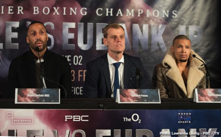 Chris Eubank Jr James DeGale DeGale vs. Eubank Jr.