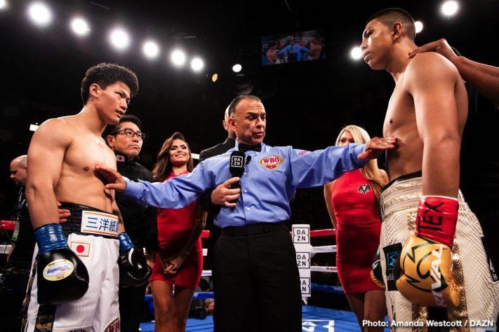 Latest Jaime Munguia Munguia vs. Inoue Takeshi Inoue