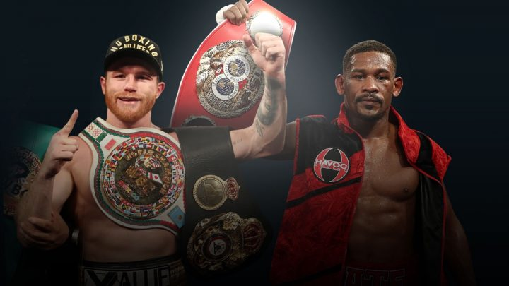 Canelo Alvarez Daniel Jacobs Canelo vs. Jacobs Golden Boy Promotions