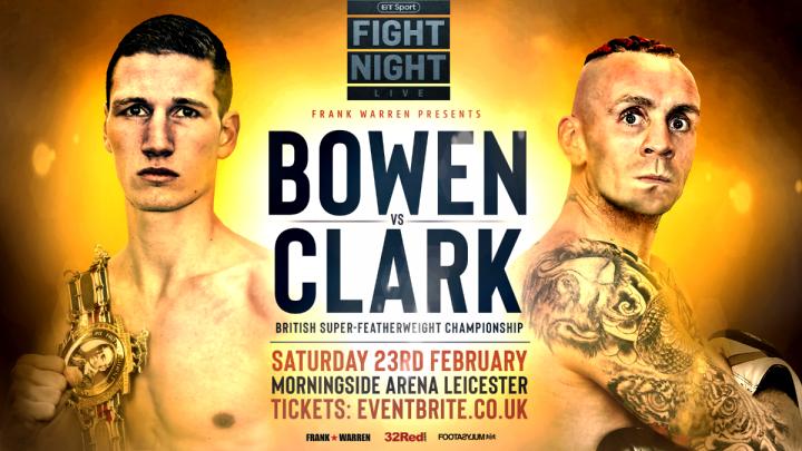 - Latest Bowen vs. Clark Lyon Woodstock Ronnie Clark Sam Bowen