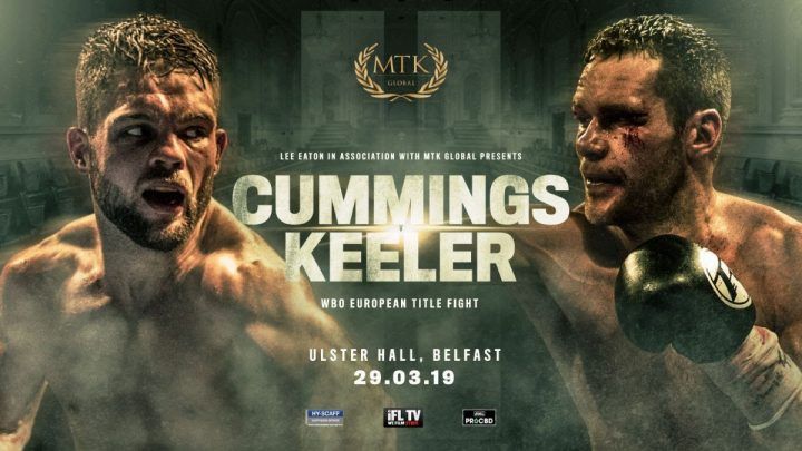 MTK Global boxing show at Ulster Hall in Belfast on March 29
