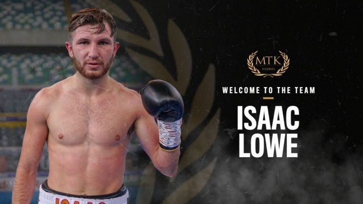 Isaac Lowe signs up with MTK Global ⋆ Boxing News 24