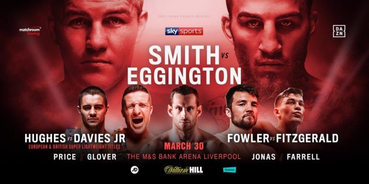 - Latest Liam Smith Sam Eggington Smith vs. Eggington