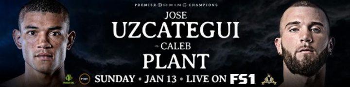 - Latest Caleb Plant Jose Uzcategui Uzcategui vs. Plant