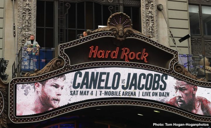 Canelo Alvarez Daniel Jacobs Canelo vs. Jacobs Golden Boy Promotions