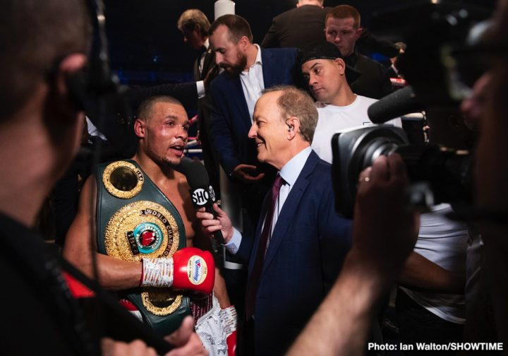 - Latest Chris Eubank Jr James DeGale