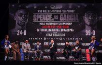 - Latest Chris Arreola Errol Spence Jr David Benavidez Spence vs. Garcia