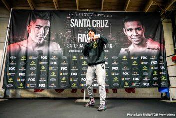 - Latest John Molina Leo Santa Cruz Leo Santa Cruz Omar Figueroa Rafael Rivera Santa Cruz vs. Rivera