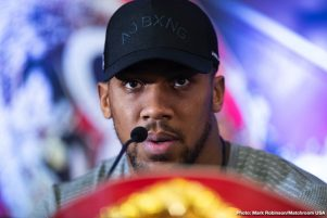 "- Latest Anthony Joshua Jarrell ""Big Baby"" Miller Joshua vs. Miller"