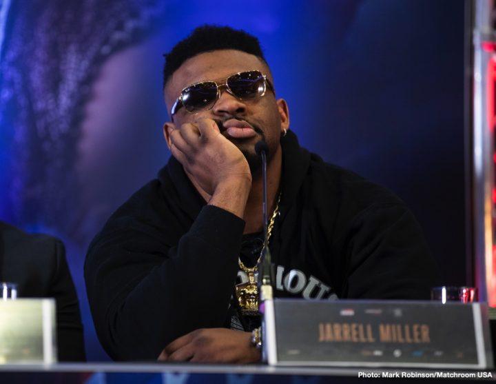 "Anthony Joshua DAZN Jarrell ""Big Baby"" Miller Joshua vs. Miller Sky Box Office"