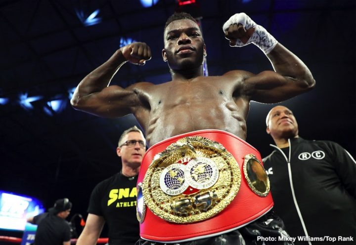 Latest Isa Chaniev Richard Commey