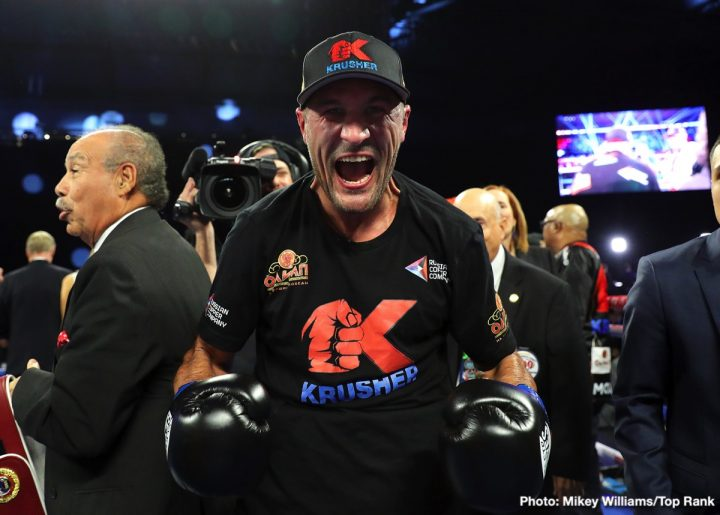 Sergey Kovalev Anthony Yarde Bob Arum Kovalev vs. Yarde Top Rank Boxing
